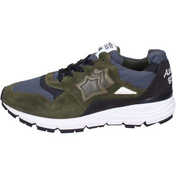 Sko Herre Sneakers Atlantic Stars BJ492 Grøn