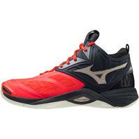 Sko Herre Multisportsko Mizuno Chaussures  Wave Momentum 2 Mid rouge/or/noir