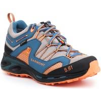 Sko Herre Vandresko Garmont 9.81 Trail Pro III GTX 481221-211 blue, orange, grey