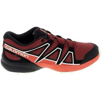 Sko Børn Lave sneakers Salomon Speedcross K Rouge Noir Rød