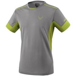 textil Herre T-shirts m. korte ærmer Dynafit Vertical 2 M SS Grå, Celadon