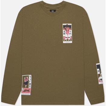 textil Herre T-shirts & poloer Edwin T-shirt manches longues  Tarot Deck II vert olive