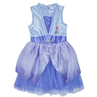 textil Pige Korte kjoler TEAM HEROES  FROZEN DRESS Blå