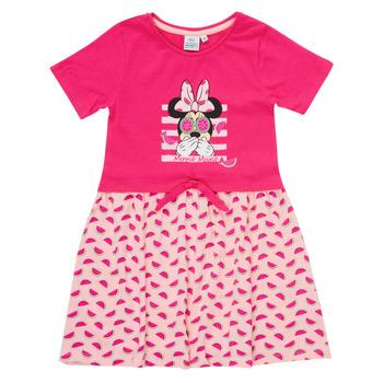 textil Pige Korte kjoler TEAM HEROES  MINNIE DRESS Pink