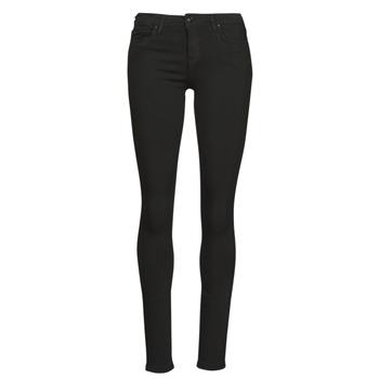 textil Dame Smalle jeans Only ONLCARMEN Sort