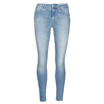 textil Dame Smalle jeans Only ONLBLUSH Blå / Lys