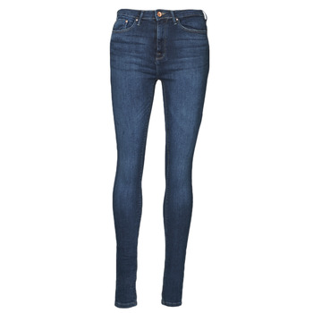textil Dame Smalle jeans Only ONLPAOLA Blå / Mørk