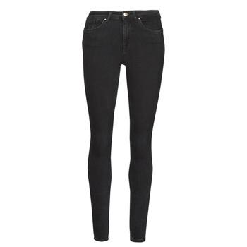 textil Dame Smalle jeans Only ONLPOWER Sort