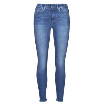 textil Dame Smalle jeans Only ONLBLUSH Blå / Medium