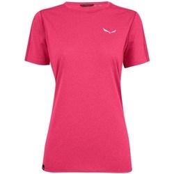 textil Dame T-shirts m. korte ærmer Salewa Pedroc 3 Dry W Pink