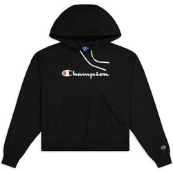 textil Dame Sweatshirts Champion Hooded Sweatshirt Nbk Sort