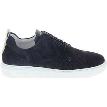 Sko Herre Lave sneakers Schmoove Bump Suede Print Bleu Blå