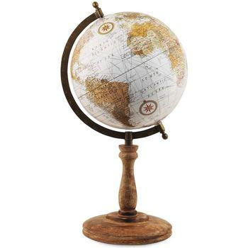 Indretning Små statuer og figurer Signes Grimalt Globe World 20 Cm Multicolor