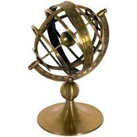 Indretning Små statuer og figurer Signes Grimalt Solar Clock Sphere Marrón