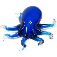 Indretning Små statuer og figurer Signes Grimalt Blæksprutte Azul