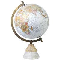 Indretning Små statuer og figurer Signes Grimalt Globus Verden Blanco