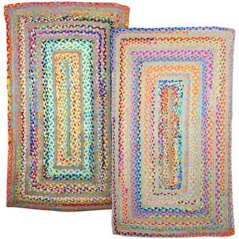 Indretning Tæpper Signes Grimalt Tæppesæt 2 enheder Multicolor