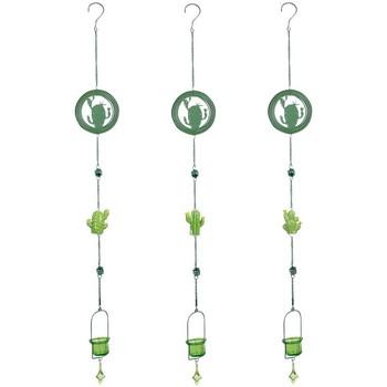 Indretning Festpynt Signes Grimalt Vedhæng Cactus T-Lite 3U Verde