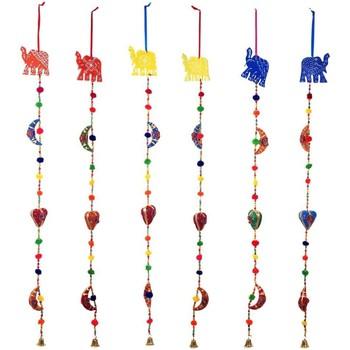 Indretning Festpynt Signes Grimalt Elefant vedhængssæt 6U Multicolor