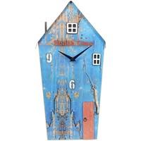 Indretning Ure Signes Grimalt Genbrugt træhusur Azul