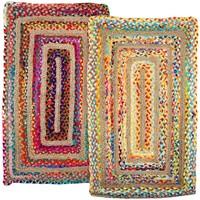 Indretning Tæpper Signes Grimalt Multifarvet tæppesæt 2U Multicolor