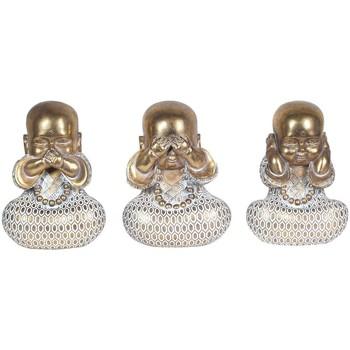 Indretning Små statuer og figurer Signes Grimalt Buddhaer Jeg kan ikke se-høre-tale 3U Multicolor