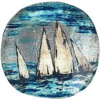 Indretning Tøm lommerne Signes Grimalt Runde tallerkenbåde Azul