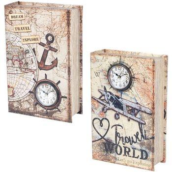 Indretning Kufferter og opbevaringskister Signes Grimalt Bogboks 2 Forskellige 2U Multicolor