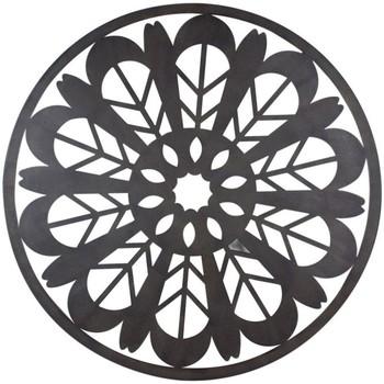Indretning Malerier og lærreder Signes Grimalt Mandala Vægpynt Negro