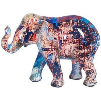 Indretning Små statuer og figurer Signes Grimalt Elefant Multicolor