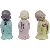 Indretning Små statuer og figurer Signes Grimalt Buddhaer 3 forskellige sæt 3U Multicolor