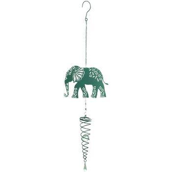 Indretning Festpynt Signes Grimalt Elefant vedhæng Verde