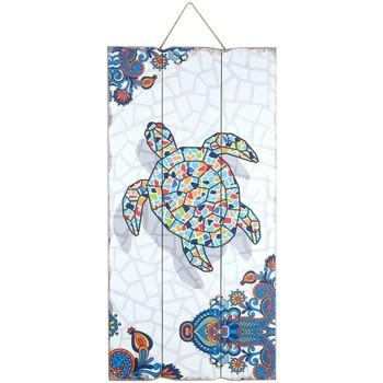 Indretning Malerier og lærreder Signes Grimalt Turtle Wall Plate Multicolor