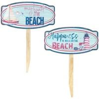 Indretning Malerier og lærreder Signes Grimalt Beach Ornament 2 Different Azul