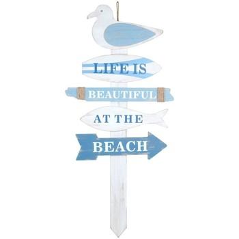 Indretning Malerier og lærreder Signes Grimalt Seagull Post Ornament Azul