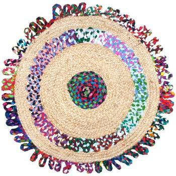 Indretning Tæpper Signes Grimalt Jute tæppefarver Multicolor