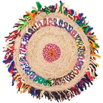 Indretning Tæpper Signes Grimalt Omkring Jute tæppe Multicolor