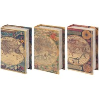 Indretning Kufferter og opbevaringskister Signes Grimalt Boxes Book 3 Dif. World Multicolor