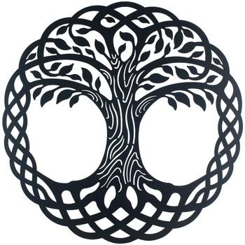 Indretning Malerier og lærreder Signes Grimalt Tree Wall Ornament Negro