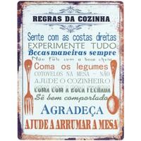 Indretning Malerier og lærreder Signes Grimalt Portugisiske vægplader Naranja