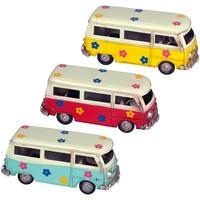Indretning Små statuer og figurer Signes Grimalt Bus 3 forskellige sæt 3U Multicolor
