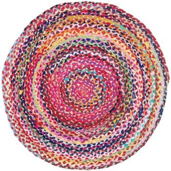 Indretning Tæpper Signes Grimalt Flettet tæppe Multicolor