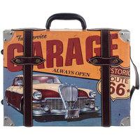 Indretning Malerier og lærreder Signes Grimalt Garage kuffert væg ornament Azul