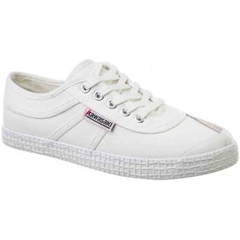 Sko Herre Sneakers Kawasaki Original canvas Hvid