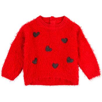 textil Børn Sweatshirts Losan 028-5000AL Rød