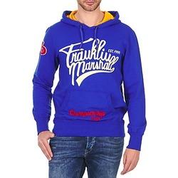 textil Herre Sweatshirts Franklin & Marshall SUNBURY Blå