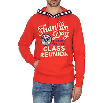 textil Herre Sweatshirts Franklin & Marshall GOSFORD Orange