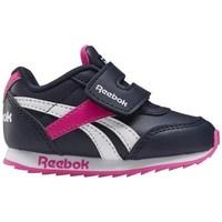 Sko Børn Lave sneakers Reebok Sport Royal CL Jogger Hvid, Sort, Pink