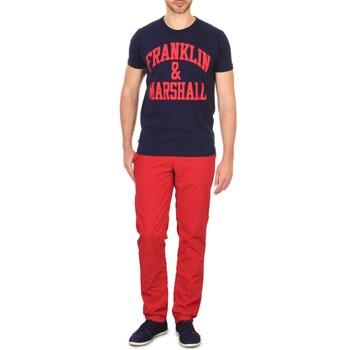 textil Herre Chinos / Gulerodsbukser Franklin & Marshall GLADSTONE Rød