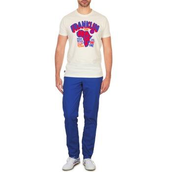textil Herre Chinos / Gulerodsbukser Franklin & Marshall GLADSTONE Blå